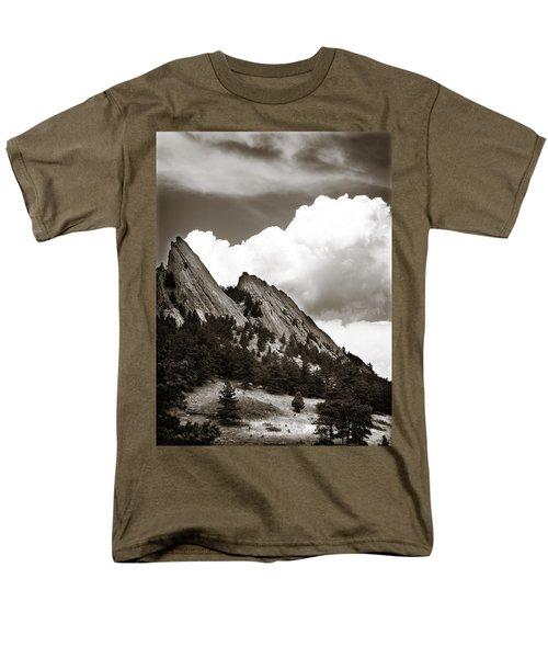Large Cloud Over Flatirons Men's T-Shirt  (Regular Fit)