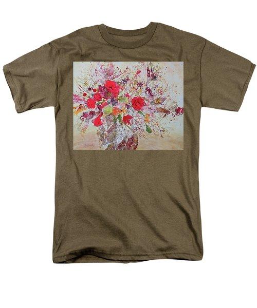 Men's T-Shirt  (Regular Fit) featuring the painting Bouquet Desjours by Joanne Smoley