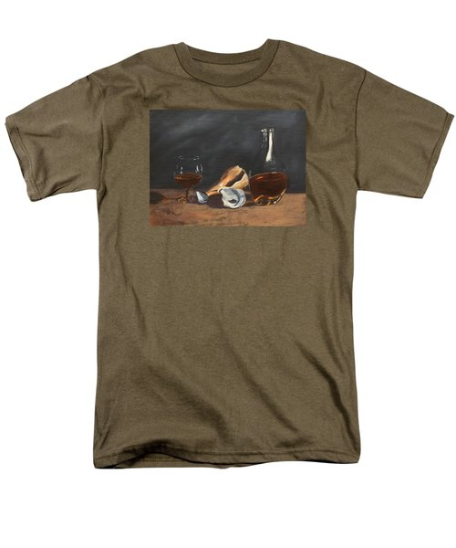 Brandy With Shells Men's T-Shirt  (Regular Fit) by Alan Mager