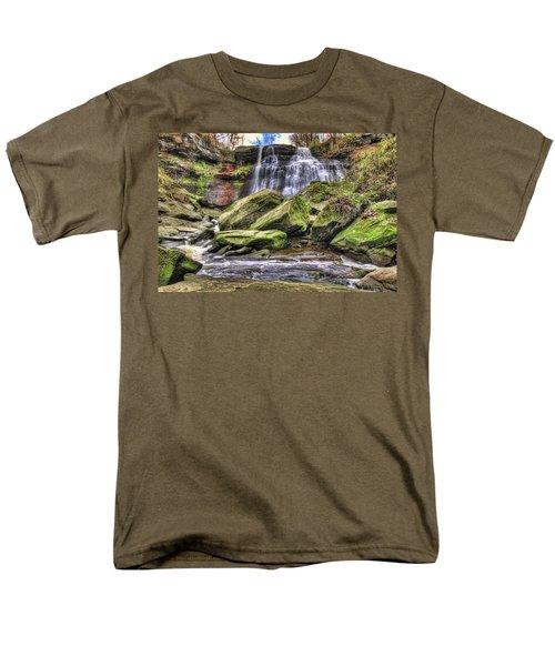 Brandywine Falls Men's T-Shirt  (Regular Fit) by Brent Durken