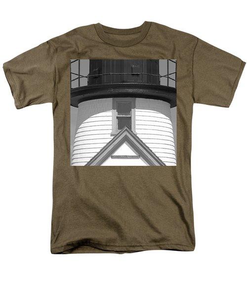 Brant Point Lighthouse Nantucket Men's T-Shirt  (Regular Fit) by Charles Harden
