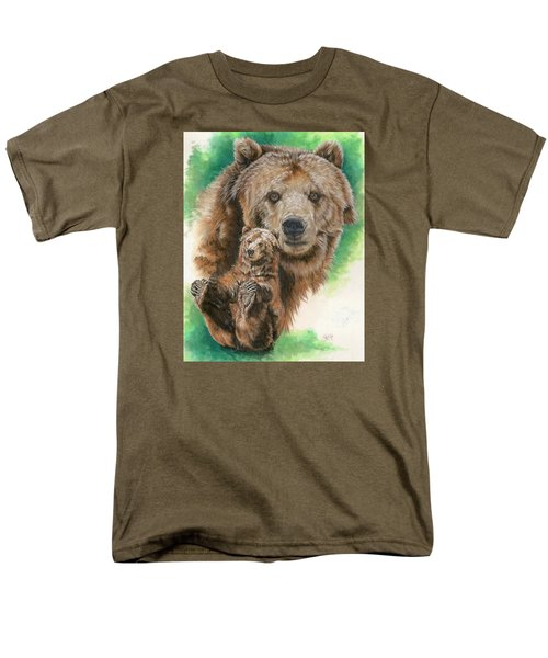 Men's T-Shirt  (Regular Fit) featuring the painting Brawny by Barbara Keith