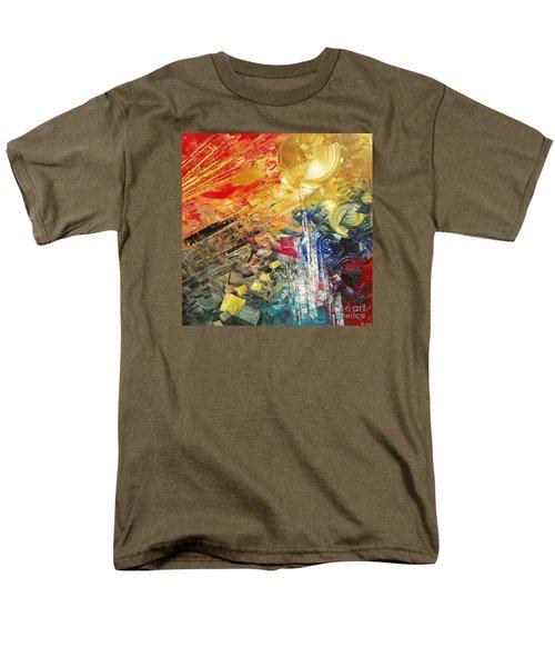 Men's T-Shirt  (Regular Fit) featuring the painting Breakfast In Vegas by Tatiana Iliina