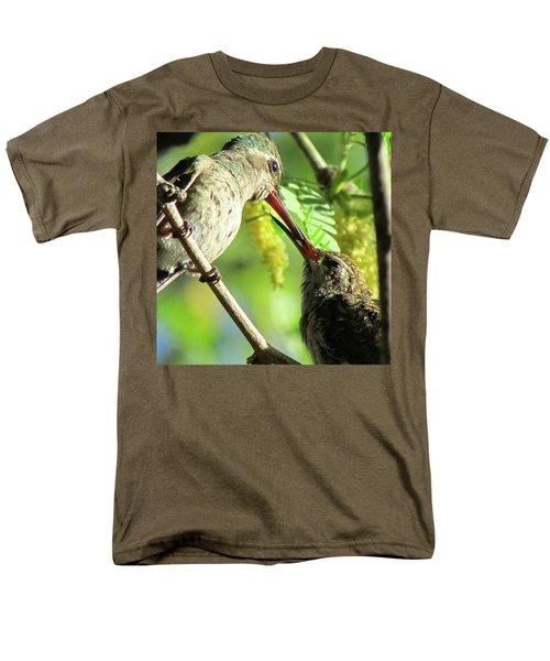 Breakfast Time Men's T-Shirt  (Regular Fit) by Brenda Pressnall