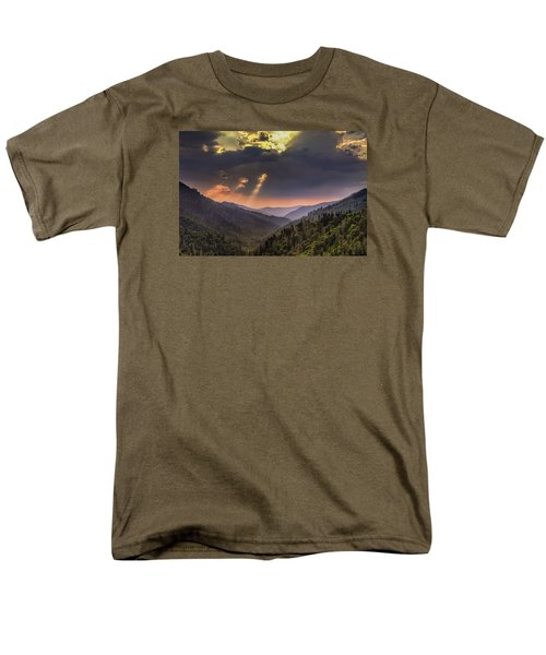 Breaking Thru At Sunset Men's T-Shirt  (Regular Fit) by Andrew Soundarajan