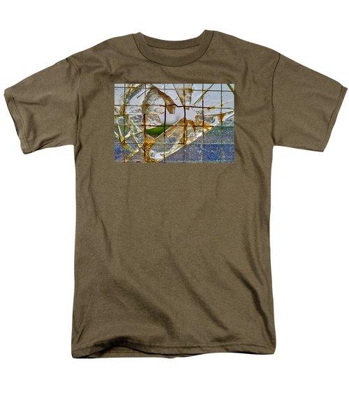 Breakthrough Men's T-Shirt  (Regular Fit) by Tgchan