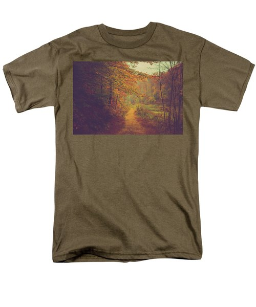 Men's T-Shirt  (Regular Fit) featuring the photograph Breathe In Autumn by Shane Holsclaw
