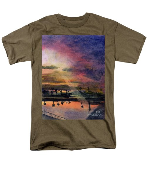 Brenda's Bay Men's T-Shirt  (Regular Fit) by Randy Sprout