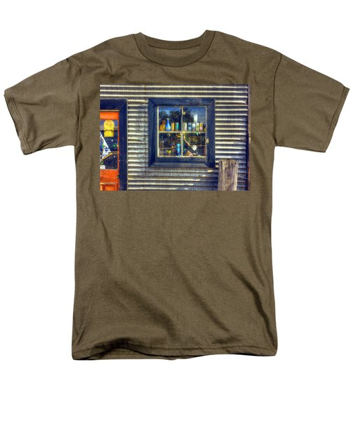 Men's T-Shirt  (Regular Fit) featuring the photograph Bric-a-brac by Wayne Sherriff