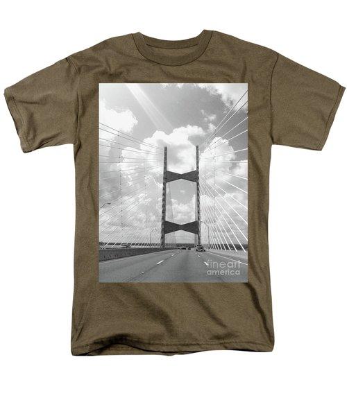 Bridge Clouds Men's T-Shirt  (Regular Fit) by WaLdEmAr BoRrErO