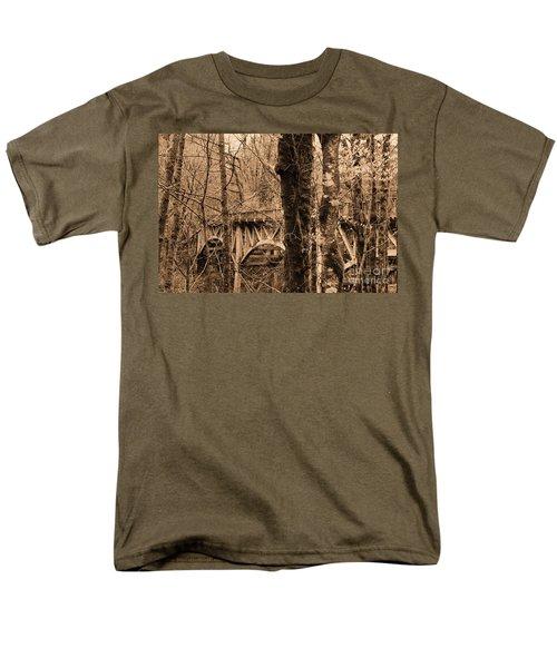 Bridge Men's T-Shirt  (Regular Fit)