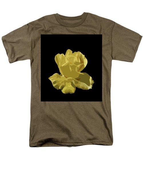 Bright Yellow Beauty Men's T-Shirt  (Regular Fit) by Laurel Powell