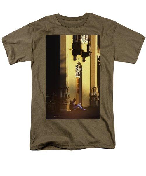 Brighton England Artist Drawing Men's T-Shirt  (Regular Fit) by Glenn Gemmell
