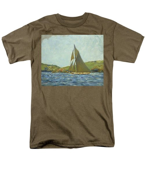 Men's T-Shirt  (Regular Fit) featuring the painting Britannia by Henry Scott Tuke