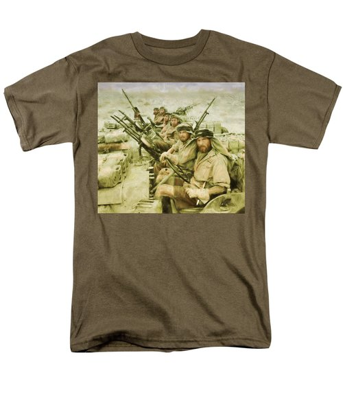 British Sas Men's T-Shirt  (Regular Fit) by Michael Cleere