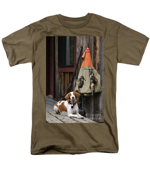 Brittany And Woodcock - D002308 Men's T-Shirt  (Regular Fit) by Daniel Dempster