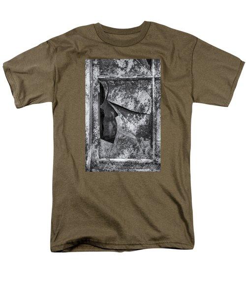 Men's T-Shirt  (Regular Fit) featuring the photograph Broken Window by Tom Singleton