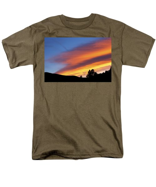 Broncos Sunset Men's T-Shirt  (Regular Fit) by Kristin Davidson