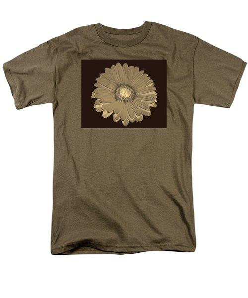 Brown Art Men's T-Shirt  (Regular Fit) by Milena Ilieva