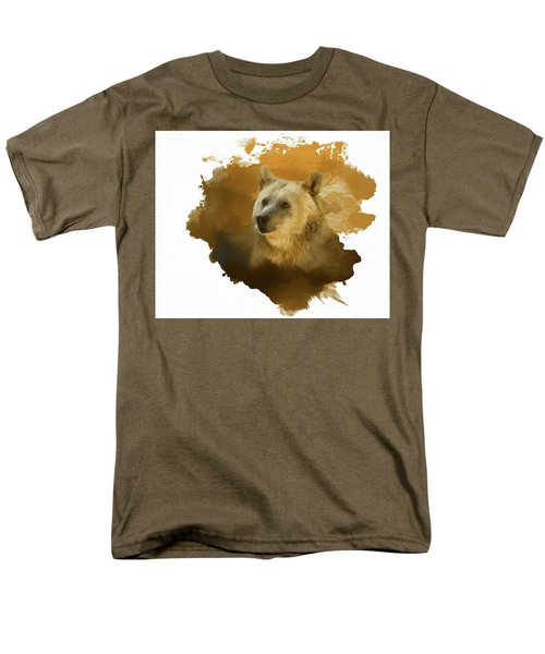 Brown Bear Men's T-Shirt  (Regular Fit) by Steven Richardson