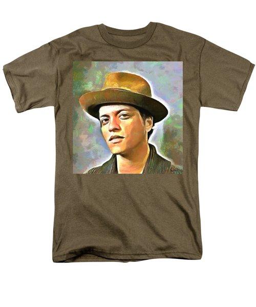 Bruno Mars Men's T-Shirt  (Regular Fit) by Wayne Pascall