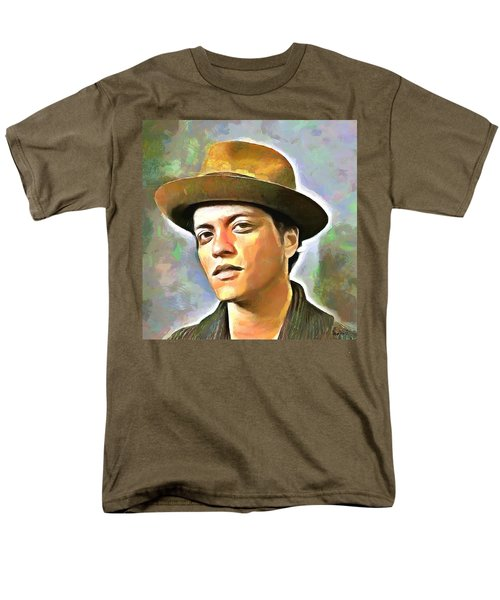 Bruno Mars Men's T-Shirt  (Regular Fit)