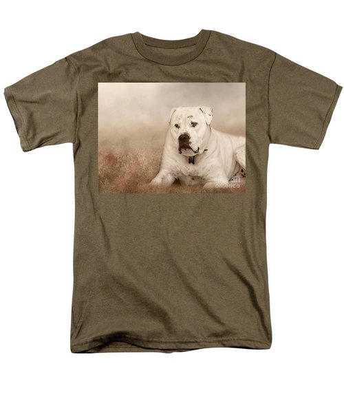 Men's T-Shirt  (Regular Fit) featuring the photograph Brutus Dreaming by Elaine Teague