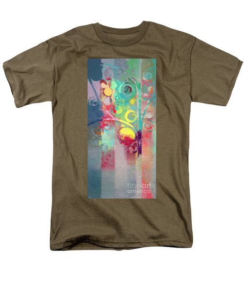 Men's T-Shirt  (Regular Fit) featuring the painting Bubble Tree - 285l by Variance Collections
