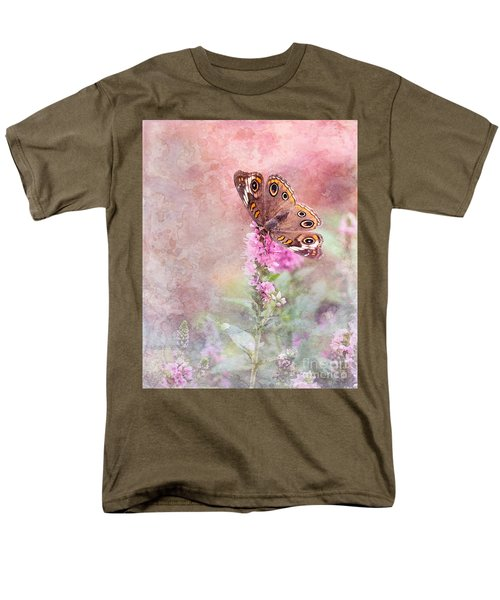 Men's T-Shirt  (Regular Fit) featuring the photograph Buckeye Bliss by Betty LaRue