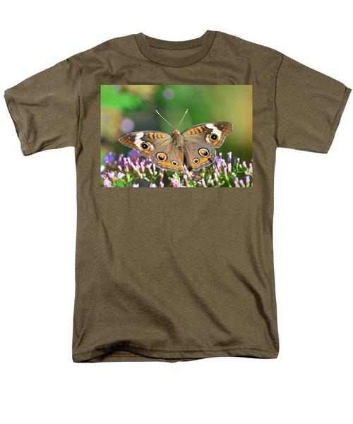 Buckeye Butterfly Men's T-Shirt  (Regular Fit) by Kathy Eickenberg