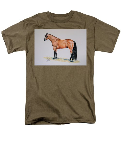 Buckskin Beauty Men's T-Shirt  (Regular Fit) by Cheryl Poland