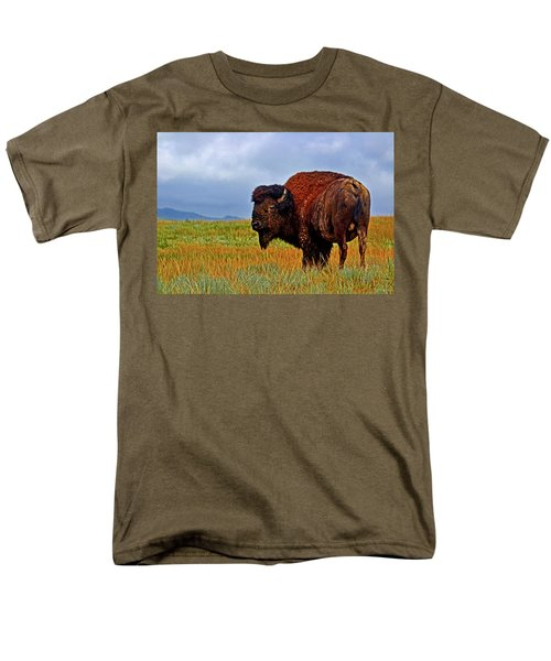 Men's T-Shirt  (Regular Fit) featuring the photograph Buffalo 006 by George Bostian