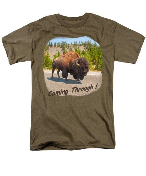 Buffalo Men's T-Shirt  (Regular Fit) by John M Bailey