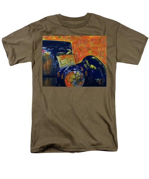 Bugatti Abstract Blue Men's T-Shirt  (Regular Fit)