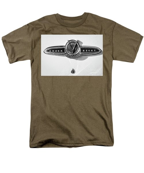 Men's T-Shirt  (Regular Fit) featuring the photograph Buick V Eight Monotone by Dennis Hedberg
