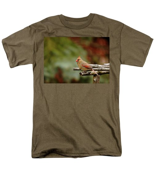 Men's T-Shirt  (Regular Fit) featuring the photograph Building A Home by Debbie Oppermann