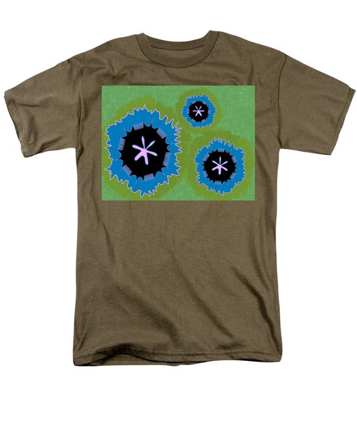 Bunny Flower Men's T-Shirt  (Regular Fit) by Kevin McLaughlin