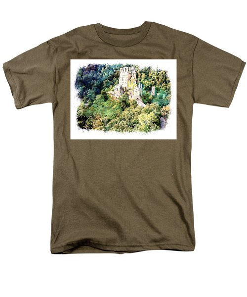 Burg Eltz - Moselle Men's T-Shirt  (Regular Fit) by Joseph Hendrix
