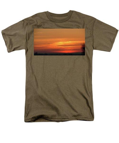 Burning Sunset Men's T-Shirt  (Regular Fit)