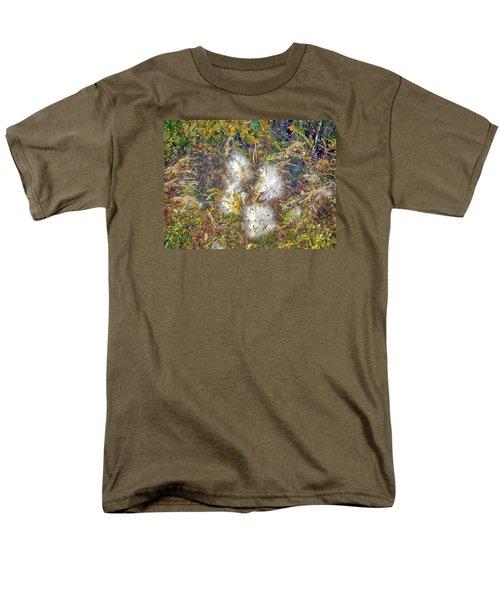Bursting Milkweed Seed Pods Men's T-Shirt  (Regular Fit) by Constantine Gregory