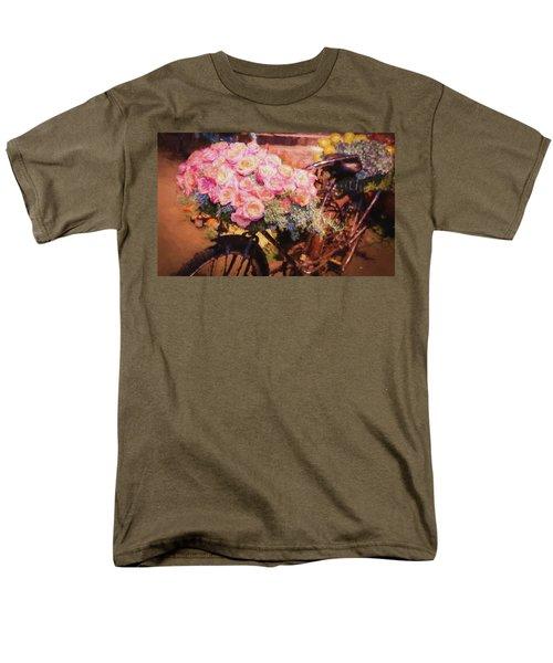 Bursting With Flowers Men's T-Shirt  (Regular Fit)