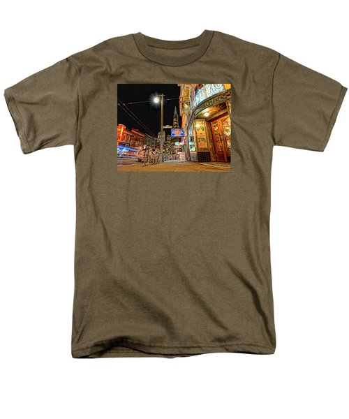 Busy View Northbeach San Francisco Men's T-Shirt  (Regular Fit) by Steve Siri