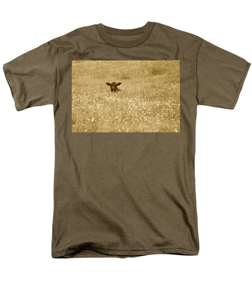 Buttercup In Sepia Men's T-Shirt  (Regular Fit) by JD Grimes