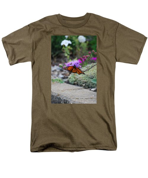 Men's T-Shirt  (Regular Fit) featuring the photograph Butterfly Garden by Ramona Whiteaker
