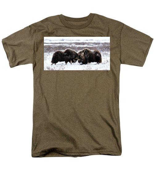 Butting Heads Men's T-Shirt  (Regular Fit)