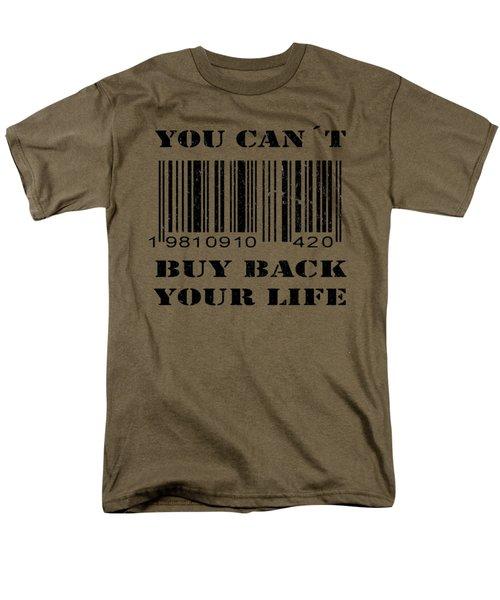 Buy Back Men's T-Shirt  (Regular Fit) by Nicklas Gustafsson