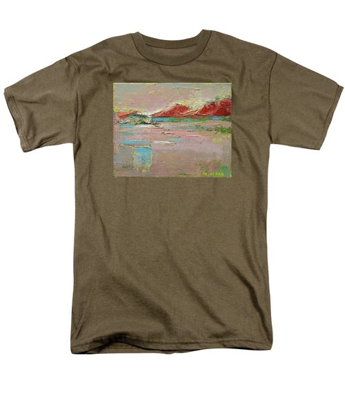 Men's T-Shirt  (Regular Fit) featuring the painting By The River by Becky Kim