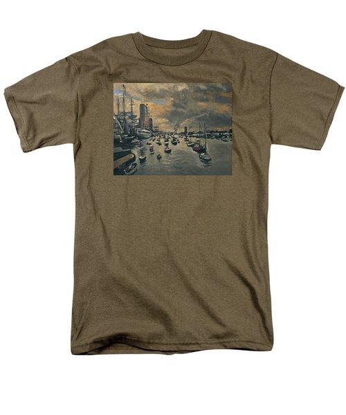 Bye Bye Sail Amsterdam Men's T-Shirt  (Regular Fit) by Nop Briex