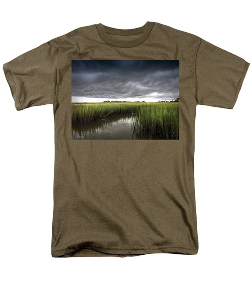 Cabbage Inlet Cold Front Men's T-Shirt  (Regular Fit) by Phil Mancuso