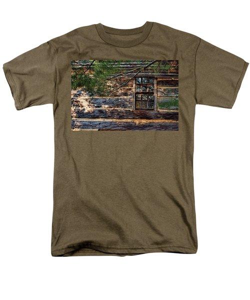 Cabin Window Men's T-Shirt  (Regular Fit) by Joanne Coyle